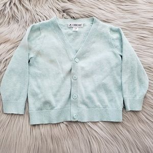 Cherokee Baby Girl Buttoned Cardigan